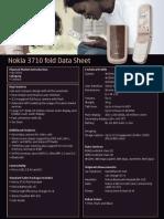Nokia 3710 Fold Data Sheet