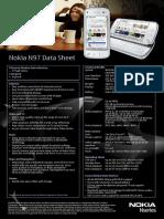 Nokia N97 Data Sheet