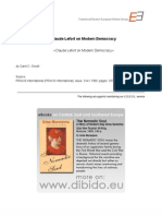 4.5 - Gould, Carol C. - Claude Lefort on Modern Democracy (en)