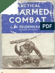 Practical Unarmed Combat -By MosheFeldenkrais