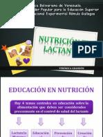 NUTRICION LACTANTES