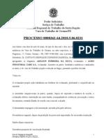 SENTENÇA - ADILSON FERREIRA DA SILVA