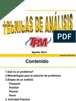 Técnica de análisis TPM