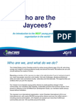 Who Are the Jaycees (Powerpoint)