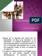 Oxidacion Biologica de Alcoholes