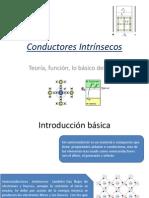 Conductores Intrínsecos y dopados