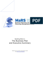 The Business Plan and Executive Summary513