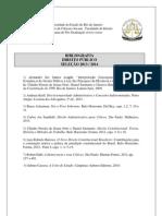 Bib Direito Publico 2013 2014