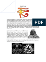 The Eye of Horus (Udjat)