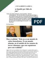 Entrevista Con Alberto Laiseca