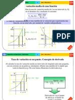 Variaciones de Funciones