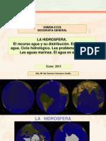 La Hidrosfera 2013