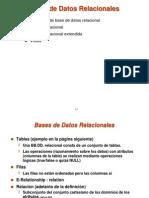 Bases Datos RElacionales