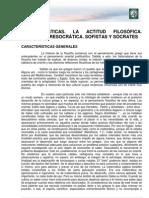 Lectura 1. Características. Filosofía presocrática. Sócrates.pdf