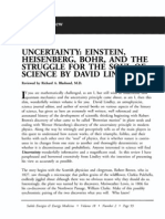 Uncertainty Einstein, Heisenberg, Bohr, And the Struggle for the Soul of Science by David Lindley; Richard a Blasband (Vol 18 No 2)