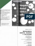 Bioquímica Dental Básica Y Aplicada
