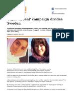 'Hijab Appeal' Campaign Divides Sweden