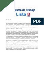 Programa de Trabajo PDF