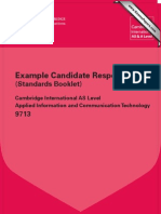 9713 Applied ICT Example Candidate Responses Booklet WEB