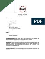 Consejo de Federación 18 agosto 13'
