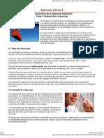 Explicación del Tema 4. Outsourcing y e-sourcing