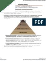 Explicación del Tema 3. Herramientas en la administración de la cadena de suministro