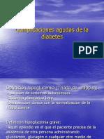 Complicaciones Agudas Diabetes
