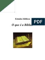 Estudos Bíblicos - O que é a Bíblia (autoria desconhecida)