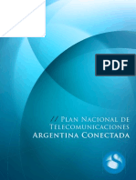 Plan Nacional de Telecomunicaciones Argentina Conectada