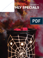 Sept. Scentsy Warmer and Scent of the Month
