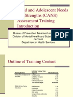 CANS Training Slides