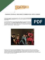 Itinerario teatrale Maschere e Commedia dell'Arte a Venezia