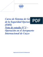 OACI SMS Nota 05  (R13) 09 (S)