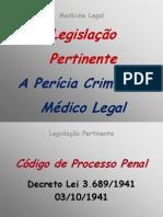 aula02.1 - Legislação pertinente, Perícia Criminal FAP