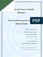 Newsletter Nº 9 Centro de Estudios Adlerianos