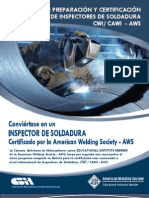 Certification Manual for Welding Inspectors Bolivia