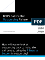 Dell Outsourcing Failure
