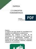 1.2 Conceptos Principales