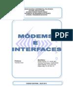 Modems e Interfaz