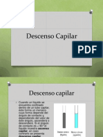 Descenso Capilar