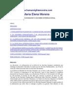 Derecho Humanos y Socorro Internacional