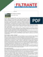 Revista Meio Filtrante  - Filtros Biológicos Percoladores (André G. Gomes, Data da notícia 09Ago2013)