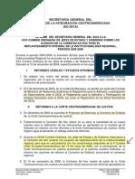 Comisión AD HOC Para el Replanteamiento Integral de la Institucionalidad Regional (Informe, 2006)