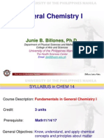 1) Chem 14 Syllabus