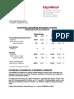 Exxon Mobil Q4 2011 Results Martin Engegren