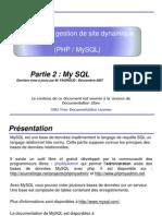 Utilisation Php Mysql