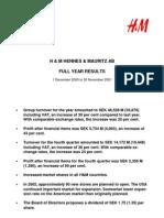 Martin EngegrenH&M Hennes & Mauritz Full Year Results 2002
