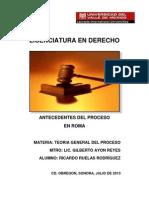 Antecedentes Del Proceso en Roma (1)