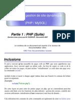Utilisation Php Avancee