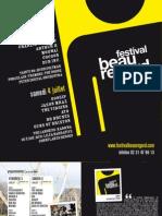 festival Beauregard 2009 - dossier de presse